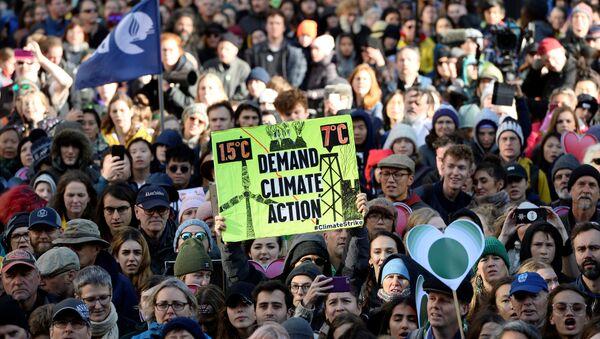 Protesta de Greenpeace - Sputnik Mundo