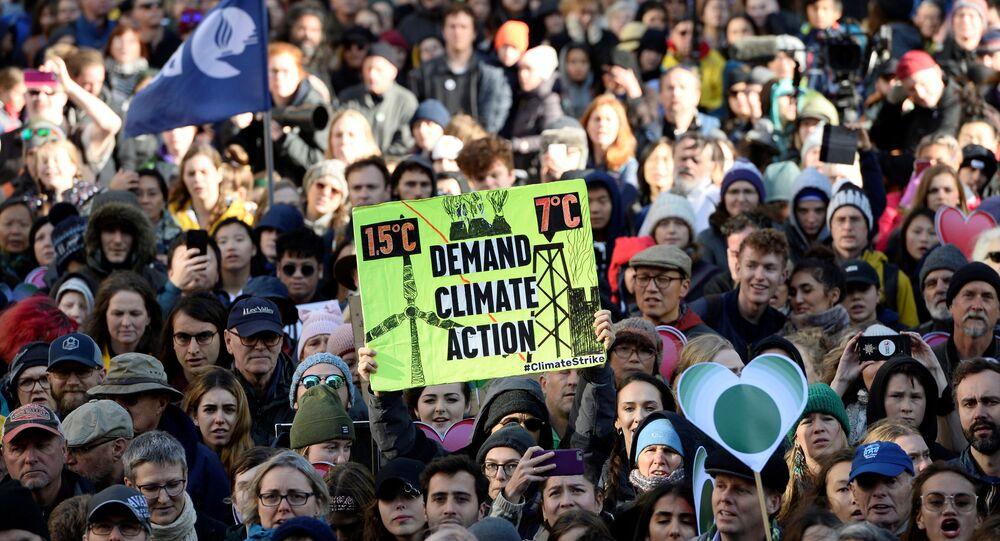 Protesta de Greenpeace