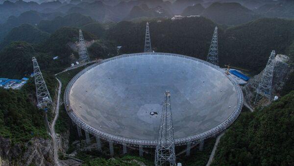 El radiotelescopio chino FAST  - Sputnik Mundo