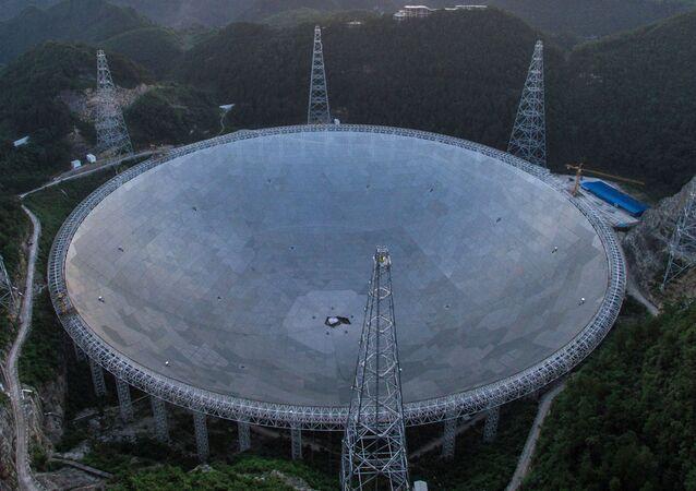 El radiotelescopio chino FAST