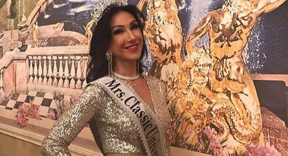 Ksenia Verbítskaya,  ganadora del prestigioso concurso de belleza Mrs. Classic Universal 2020
