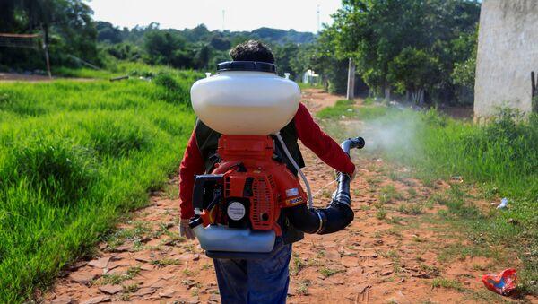 La fumigación por emergencia nacional en Paraguay ante el repunte de casos de dengue - Sputnik Mundo