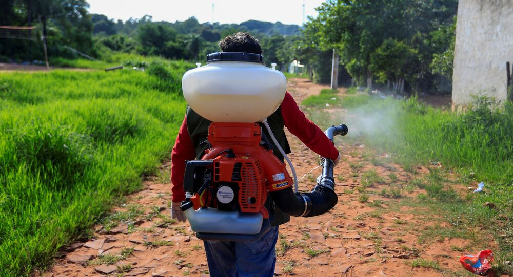 La fumigación por emergencia nacional en Paraguay ante el repunte de casos de dengue