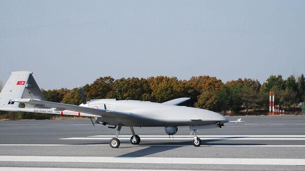 Un dron turco (imagen referencial) - Sputnik Mundo