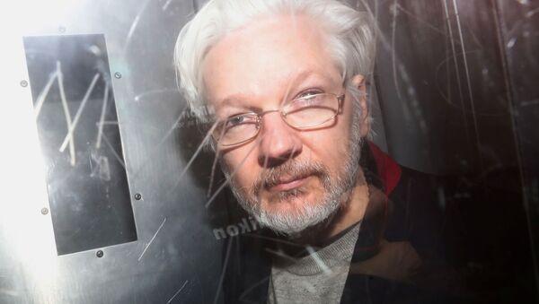 Julian Assange, el fundador de WikiLeaks (archivo) - Sputnik Mundo