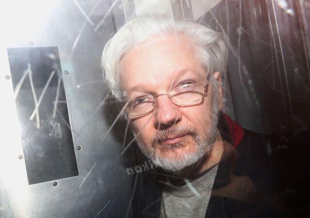 Julian Assange, el fundador del sitio de filtraciones WikiLeaks