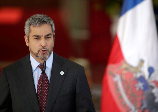 Mario Abdo Benítez, el presidente de Paraguay