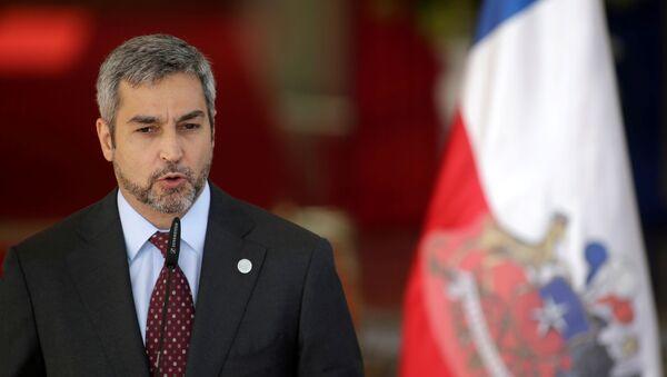 Mario Abdo Benítez, el presidente de Paraguay - Sputnik Mundo