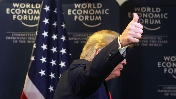 El presidente de Estados Unidos, Donald Trump - Sputnik Mundo