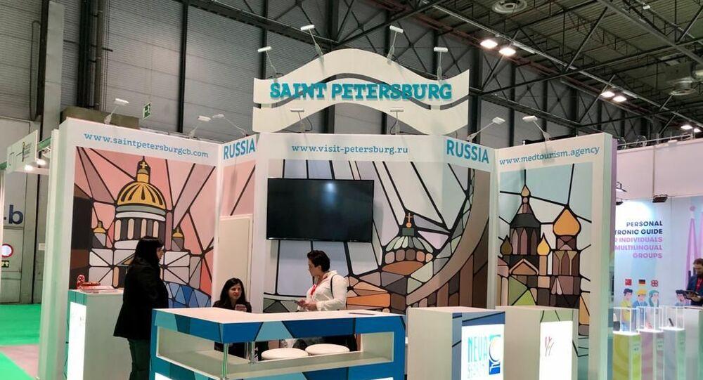 Pabellón ruso en la Feria Internacional de Turismo-FITUR