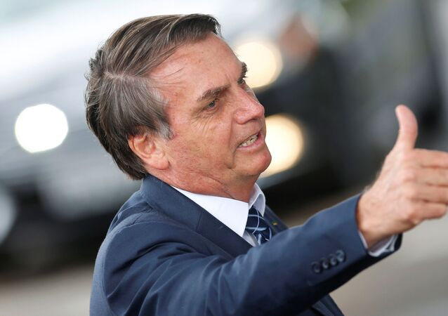 Jair Bolsonaro, el presidente de Brasil