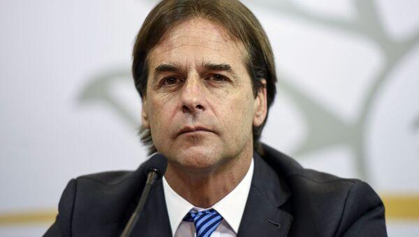 El presidente electo de Uruguay, Luis Lacalle Pou - Sputnik Mundo