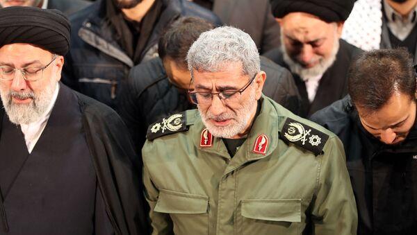 Esmail Qaani, comandante de la Fuerza Quds del Cuerpo de la Guardia Revolucionaria Islámica - Sputnik Mundo