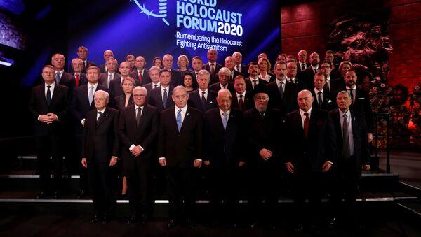 Líderes mundiales en el Foro Mundial del Holocausto - Sputnik Mundo