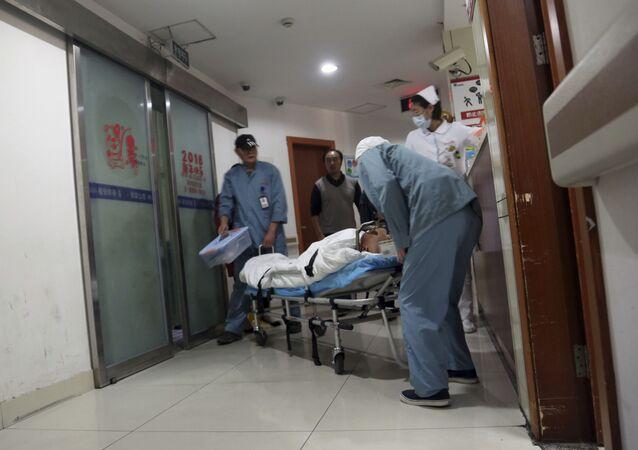 Un hospital en China (imagen referencial)