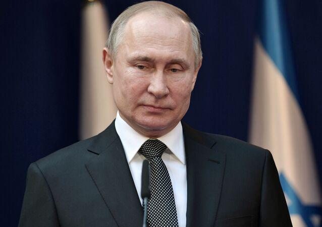 Vladímir Putin, presidente de Rusia, en Israel