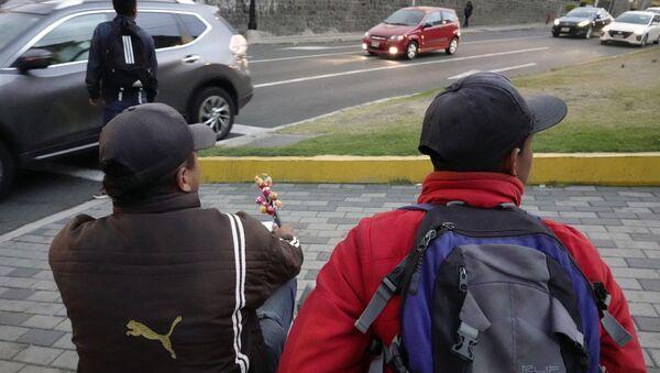 Migrantes venezolanos en Quito, Ecuador - Sputnik Mundo