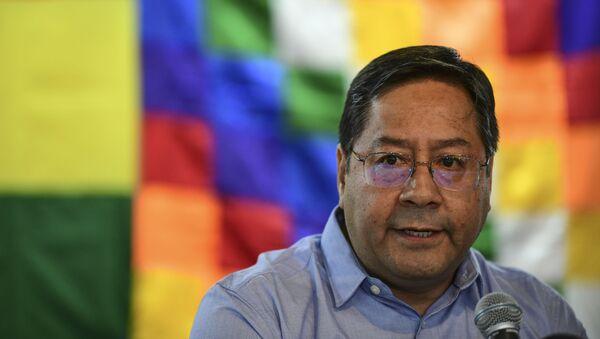 Luis Arce Catacora, exministro de Economía de Bolivia - Sputnik Mundo