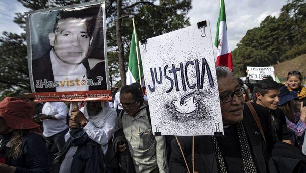 Caminata por verdad, justicia y paz y contra la impunidad en México - Sputnik Mundo