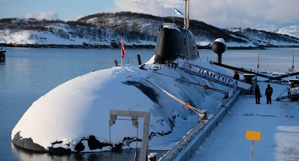 El submarino ruso (archivo)