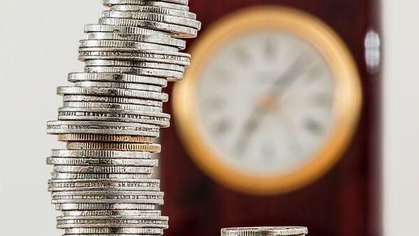 Monedas (imagen referencial) - Sputnik Mundo
