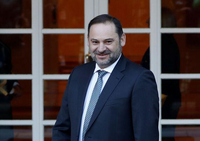 José Luis Ábalos, el ministro español de Transportes