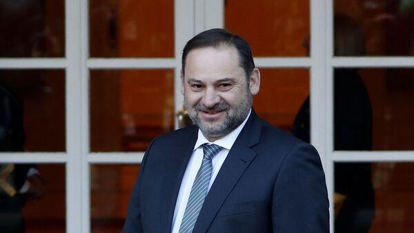 José Luis Ábalos, el ministro español de Transportes - Sputnik Mundo