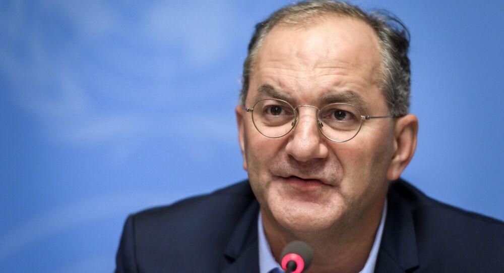 Peter Salama, el director ejecutivo de la OMS