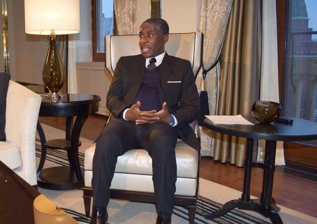 Teodoro Nguema Obiang Mangue, el vicepresidente de Guinea Ecuatorial