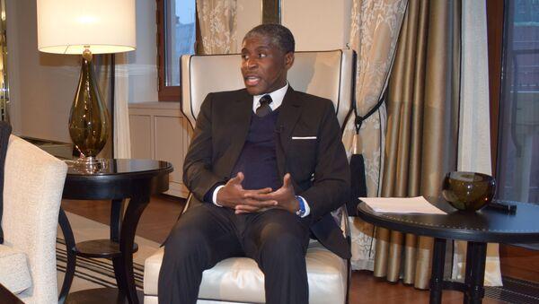 Teodoro Nguema Obiang Mangue, el vicepresidente de Guinea Ecuatorial - Sputnik Mundo