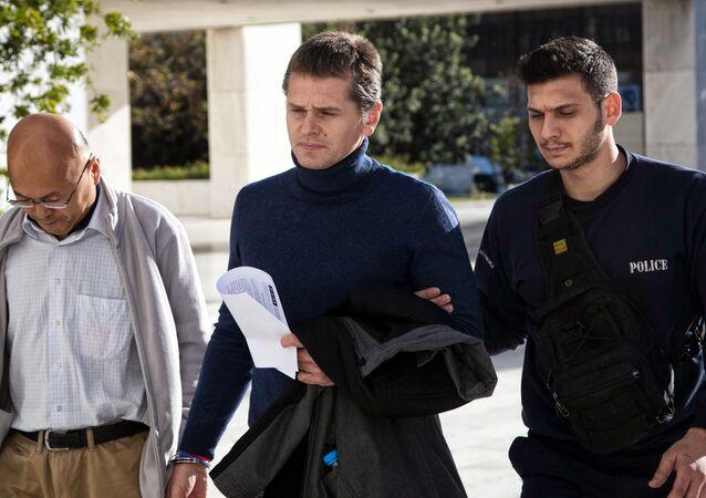 Alexandr Vínnik, informático ruso arrestado en Grecia