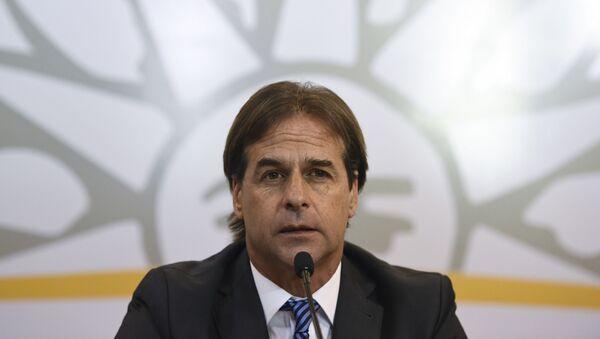 Luis Lacalle Pou, presidente electo de Uruguay - Sputnik Mundo