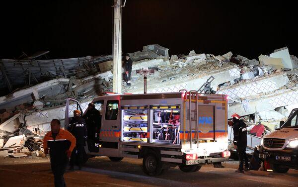 Terremoto en la provincia turca de Elazig - Sputnik Mundo