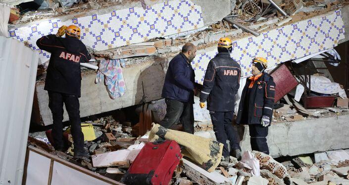 Terremoto en la provincia turca de Elazig