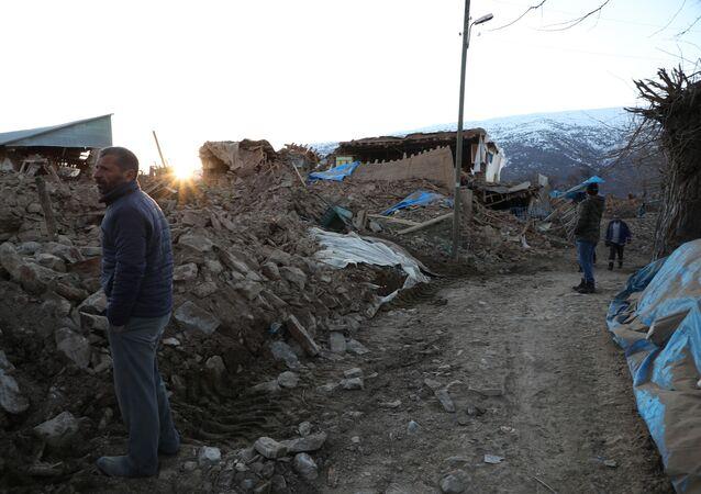 Consecuencias del terremoto en la provincia turca de Elazig