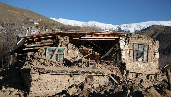 Consecuencias del terremoto en la provincia turca de Elazig - Sputnik Mundo