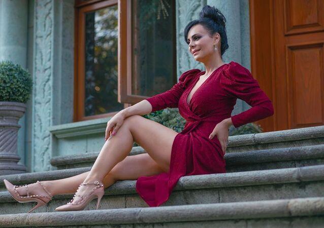 La actriz Maribel Guardia