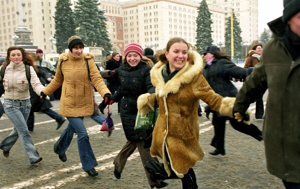 Universitarios participan de las celebraciones del Día de Tatiana - Sputnik Mundo