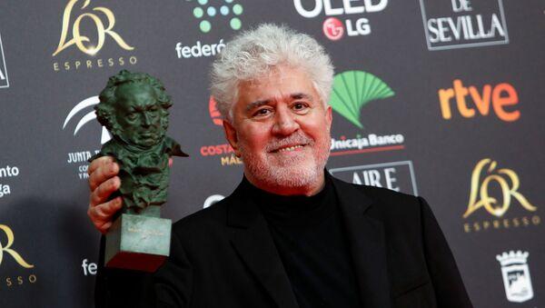 Director de cine español Pedro Almodóvar durante los premios Goya 2020 - Sputnik Mundo
