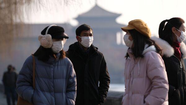 Situación en Pekín, China - Sputnik Mundo