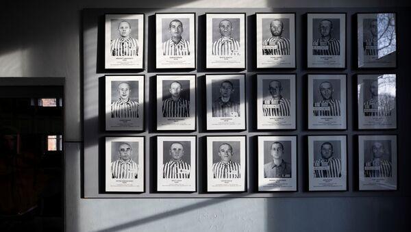 Fotos de prisioneros del campo de exterminio nazi en Auschwitz - Sputnik Mundo