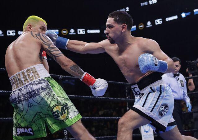 La pelea entre Iván Redkach y Danny García