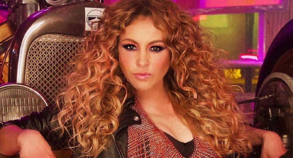 Paulina Rubio, cantante mexicana