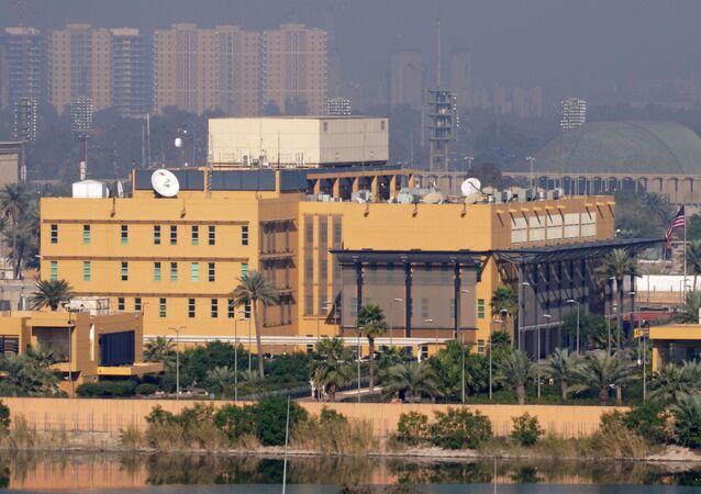 Embajada de EEUU en Bagdad (Archivo)