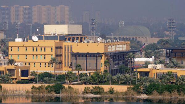 Embajada de EEUU en Bagdad (Archivo) - Sputnik Mundo