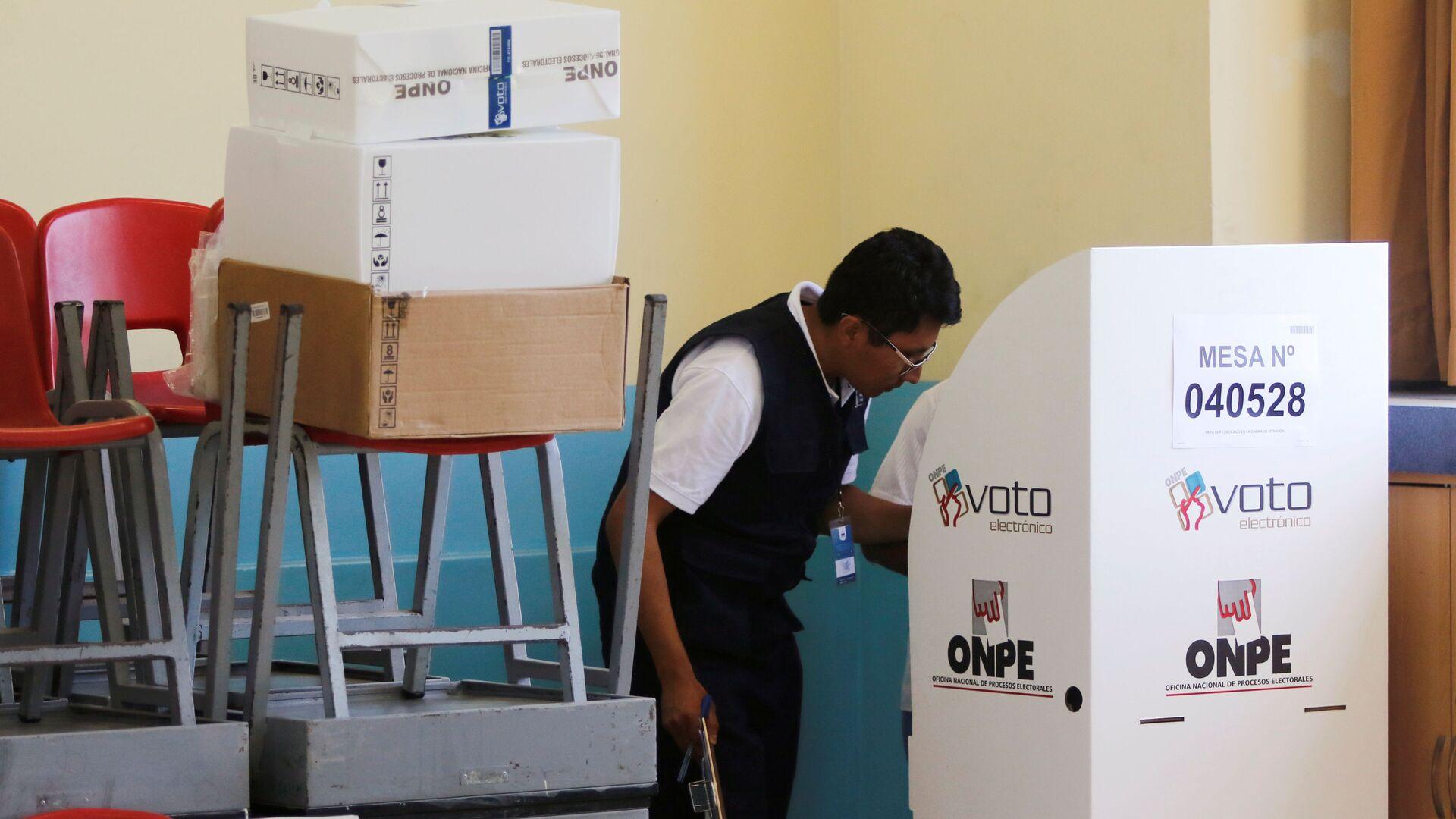 Elecciones legislativas en Perú - Sputnik Mundo, 1920, 05.04.2021