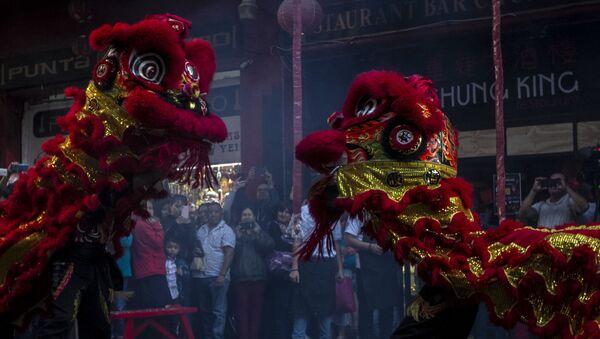 La celebración del Año Nuevo chino en México - Sputnik Mundo