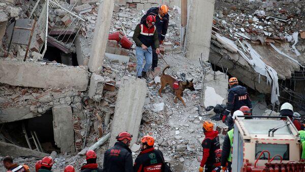 Consecuencias del terremoto en el este de Turquía - Sputnik Mundo