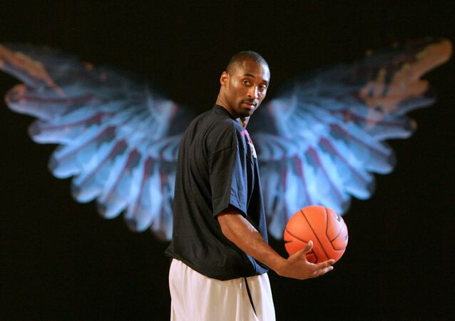 Kobe Bryant, famoso basquetbolista estadounidense