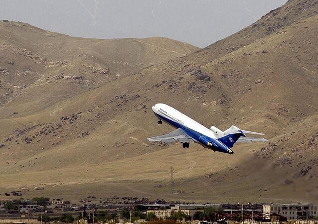 Un avión de Ariana Afghan Airlines (archivo)